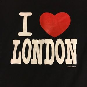 🌼4 for $20🌼 I love London t-shirt